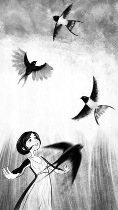Julia Jager illustrations, http://juliajager.tumblr.com