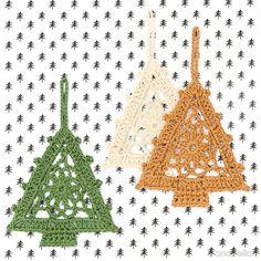 Crochet Christmas Tree - free pattern @ Anabelia Craft Design