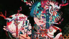 #animegirl#wallpaperanime#anime#art#skull Hola si quieres ver mas contenido, síguenos te lo agradecemos mucho♡ este wallpaper no nos pertenece créditos a su creador Anime Art Girl, Manga Art, Anime Manga, Art And Illustration, Pretty Art, Cute Art, Character Inspiration, Character Art, Art Sketches