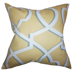 Found it at Wayfair - Curan Geometric Cotton Throw Pillow