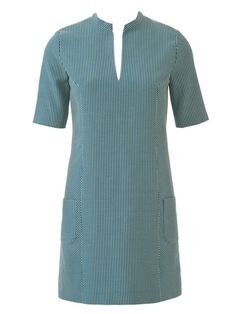 Split Neck Dress 09/2014 #101 – Sewing Patterns   BurdaStyle.com