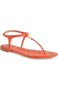 Tory Burch 'Marion' Quilted Sandal (Women) available at #Nordstrom