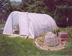 How to Make a Home Garden Greenhouse, Like Michelle Obama.  2013 I used this idea this year.  It saved the season.  We had Snow all the way till May this year.  Instead of getting a head start, it helped my garden survive.