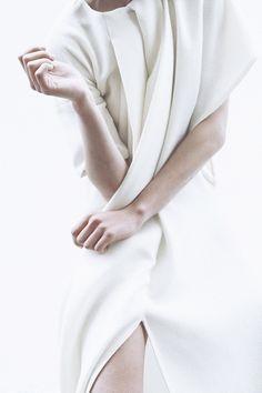 #fashion #style #edito #monochrome #white