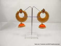 Customized Chand Bali Earrings !!! Price Rs.250 For Orders Ping Us In Whatsapp +91 8754032250
