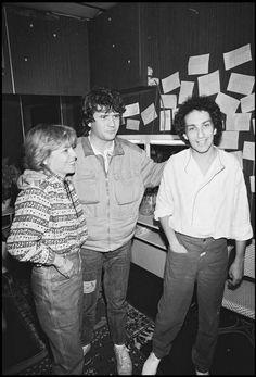 France Gall, Daniel Balavoine et Michel Berger en 1983