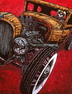 Paper Prints The 8 x 10 and 12 x 18 Dead Heat prints are produced with archival…