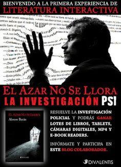 Concurso: El azar no se llora - La investigación PSI ¡Grandes premios!