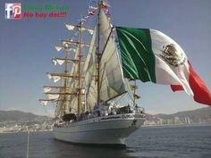 Buque escuela Cuauhtémoc de la Marina Armada de #México