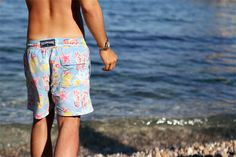 Beaching in Taormina summer 2012 Villebrequin bathing suit source: www.thethreef.com #style #menswear #boy