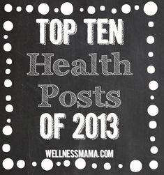 Top 10 Health Posts of 2013