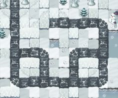 Elf Defense / 2D Game concept art, 2011 on Behance