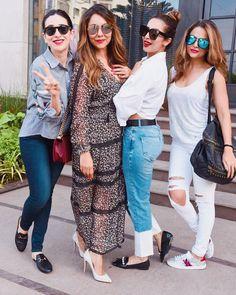 Gauri Khan's store launch: Sridevi, Karisma Kapoor, Malaika Arora and Amrita Arora mark their presence Bollywood Celebrities, Bollywood Fashion, Bollywood Actress, Bollywood Style, Indian Celebrities, Eid Outfits, Casual Outfits, Fashion Outfits, Fashion Hub
