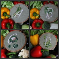 Vegetables alphabet