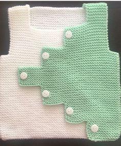 How To Make Zik Zak Cut Sweater Knitted As A Haraşo. Baby Knitting Patterns, Knitting Blogs, Knitting For Kids, Crochet For Kids, Knitting Designs, Knitting Socks, Baby Patterns, Hand Knitting, Baby Cardigan