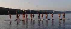Girlfriends Getaway - Stand up Paddle Boarding on Lake George Girlfriends Getaway, Lake George, Paddle Boarding, Events, Winter, Summer, Happenings, Summer Time