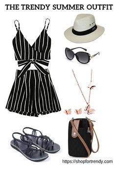 My favourite beach outfits this summer Check out this mix and match outfit The highlight colours are black and white Simple and elegant Also check out 10 summer outfits y. Teen Beach Outfit, Casual Beach Outfit, Beach Outfits, Trendy Summer Outfits, Outfits For Teens, Stylish Outfits, Cute Outfits, Outfit Strand, Cute Fashion