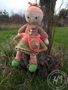 Unique amigurumi doll, best friend, best gift, with changeable clothes :) Baby Girl Dolls, Amigurumi Doll, Baby Knitting, Best Gifts, Teddy Bear, Trending Outfits, Unique Jewelry, Handmade Gifts, How To Make