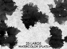 Free watercolor Photoshop brush sets for creating watercolor-styled designs. Delicate flowers, strokes, retro splashes, and many more watercolor brushes. Watercolor Paintings Abstract, Watercolor Brushes, Painting & Drawing, Brush Sets, Photoshop Brushes, Deviantart, Illustration, Artist, Design