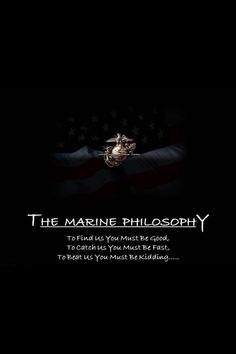 Even though I'm Navy through and through, Marines are still my brothers and sisters!  Hoo Raa!