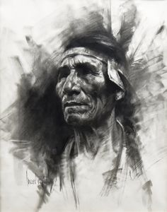 Sitting Eagle by Harley Brown - The Eddie Basha Collection