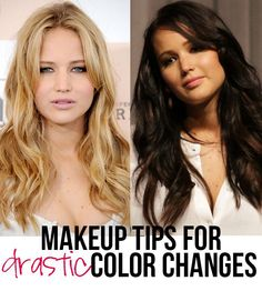 One of the most commonly overlooked aspects of a radical hair color change is the makeup update. Drastically different hair calls for different makeup as well. Which is actually (in my eyes) one of…