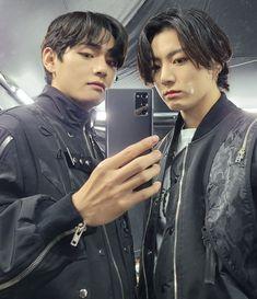 Jungkook Cute, Bts Taehyung, Bts Jungkook, Taekook, Bts Maknae Line, V Bts Wallpaper, Bts Korea, Bts Pictures, Photos