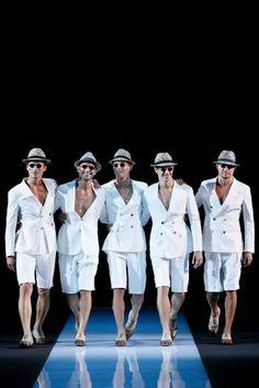 Giorgio Armani semana de la moda Milán