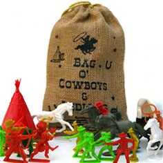 BAG OF COWBOYS AND INDIANS