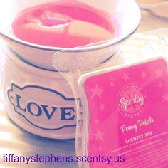 Love element warmer and Peony Petals scent bar