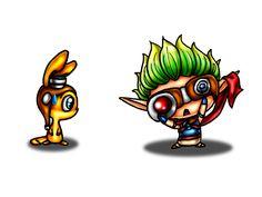 Chibi Jak and Daxter by LonelySara.deviantart.com on @deviantART
