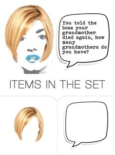 """""""Told The Boss"""" by sjlew ❤ liked on Polyvore featuring art"""