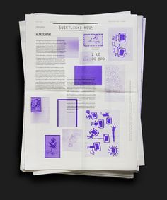 Poets' Poznan – Newspaper on Editorial Design Served Newspaper Layout, Newspaper Design, Book Design Layout, Print Layout, Editorial Layout, Editorial Design, Graphic Design Resume, Text Design, Typography Design