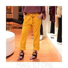 """Details calça #mixed ! Amamos essa cor para o inverno dá um """"up"""" em qualquer look. #sochic #socool #maglovers by magstore_ata"""