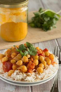Quick + Easy Chana Masala: we added mushrooms to this and a few extra dashes of the spices accordingly. Had to sub jalapeno for serrano since our area is out. This dish is delicious and very filling (to be fair, we kept going back for seconds and more seconds!).