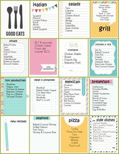 My menu / food ideas list for Other, more specific menu planning does not seem to work . - My menu / food ideas list for Other, more specific menu planning does not seem to work for me - Monthly Meal Planning, Family Meal Planning, Budget Meal Planning, Cooking On A Budget, Family Meals, Weekly Meal Plan Family, Cooking Ideas, Kids Meals, Budget Freezer Meals