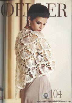 Hand crochet triangle lace shawl wrap in IVORY Holiday Valentine Wedding Bride Bridesmaid - ready to ship Crochet Blouse, Crochet Shawl, Hand Crochet, Knit Crochet, Broomstick Lace, Crochet Triangle, Crochet Squares, Hairpin Lace, Wedding Bride