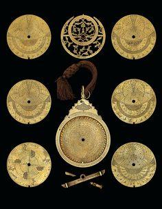 A fine Safavid brass astrolabe, signed Muhammad Mehdi Al-Yazdi | Iran, circa 1660