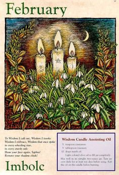 silverwitch:    February ~ Imbolc - My daughter was born the day after on Monday Feb. 3/92 under a New Moon.
