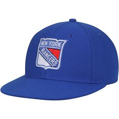c526e5bb263 Men s New York Rangers adidas Blue Basic Fitted Hat