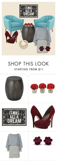 """""""Go on interwiew"""" by dzenita-219 on Polyvore featuring Oliver Gal Artist Co., Michael Antonio, Lace & Beads, Kate Spade, women's clothing, women's fashion, women, female, woman and misses"""