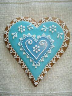 arte em forma de biscoito . . .