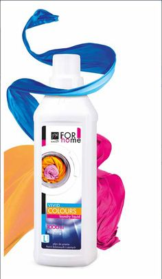 Vivid Colours Laundry Liquid 1000ml £5.70 specially selected components protect clothing against the loss of colour, stretching and shrinkage. Suitable for coloured fabrics, as well as for washing black and very dark fabrics. Perfectly removes all kind of dirt and prevents it from re-settling on the fabrics during the washing. Convenient smooth texture,  easily dissolves in water and does not leave marks on the fabric.  #laundryliquid #colours #fabrics #stains #wash #laundry #fmhome