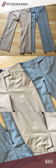 Bundle of Two Ann Taylor Dress Pants Perfect condition. True to size. No rips stains or tears. Buy with confidence I'm a top 10% seller and a Poshmark Ambassador ! Ann Taylor Pants