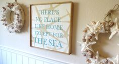 Meet Me Bye The Sea There's No Place Like Home Except For The Sea Wooden Beach Sign