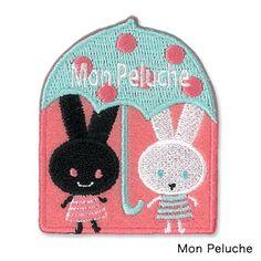 【ゆうパケット対応】ワッペン[Mon peluche] - 雑貨オンラインショップShinzi Katoh Collection