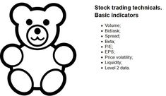 Technical side of stock trading. The main technical indicators. Advanced technical information.