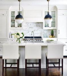 39 Inspiring White Kitchen Design Ideas | DigsDigs