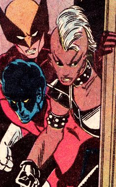 Wolverine, Storm & Nightcrawler by Paul Smith & Bob Wiacek