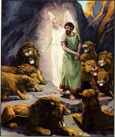 "Do you need the lions' mouths shut? ""My God hath sent his angel, and hath shut the lions' mouths, that they have not hurt me: forasmuch as before him innocency was found in me; and also before thee, O king, have I done no hurt."" – Daniel 6:22"